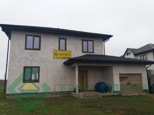 Дом подготовлен к фасадным работам
