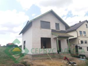 Дом закварцован и готов к фасадной отделке