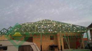 Крыша по системе Mitek