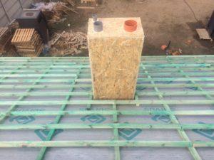 Подшиваем потолок паробарьером